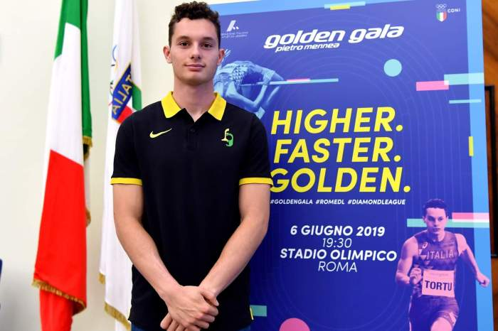 Giovedì a Roma il Golden Gala 2019