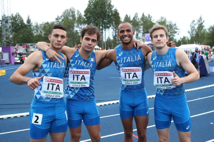 Artuso quarto agli Europei Under 23 con la 4x100