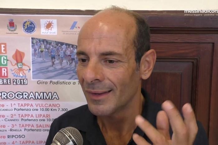 Nunzio Scolaro - Eolie Running Tour 2019