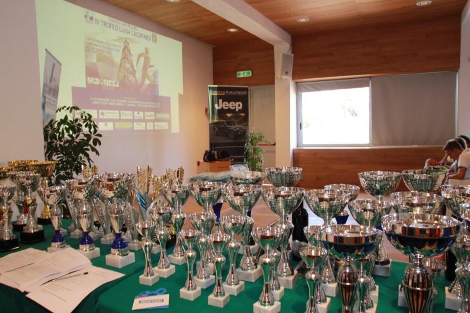 Foto Premiazioni 10 Km di Capo Peloro - IV Trofeo Luigi Cacopardi
