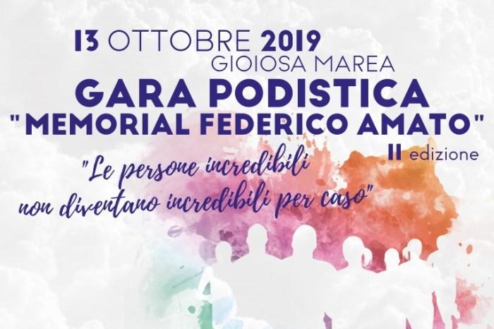 """Tutto pronto a Gioiosa Marea per il """"2° Memorial Federico Amato"""""""