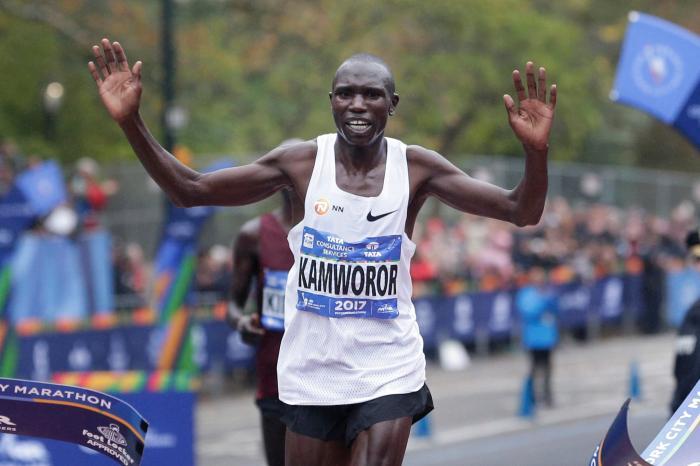 Alla Maratona di New York è dominio keniano