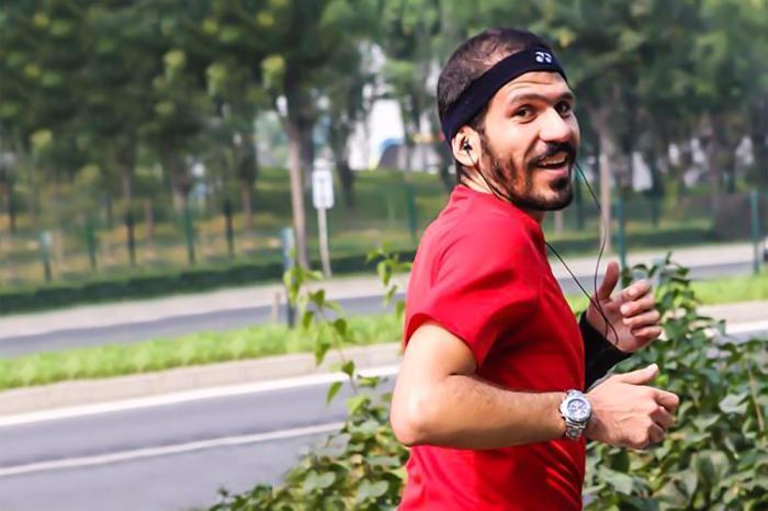 Luca Naso fermato in Abruzzo dal Coronavirus