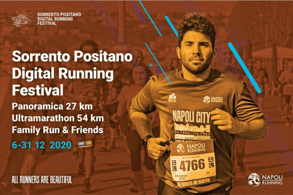 """Come funziona la """"Sorrento-Positano Digital running festival"""""""