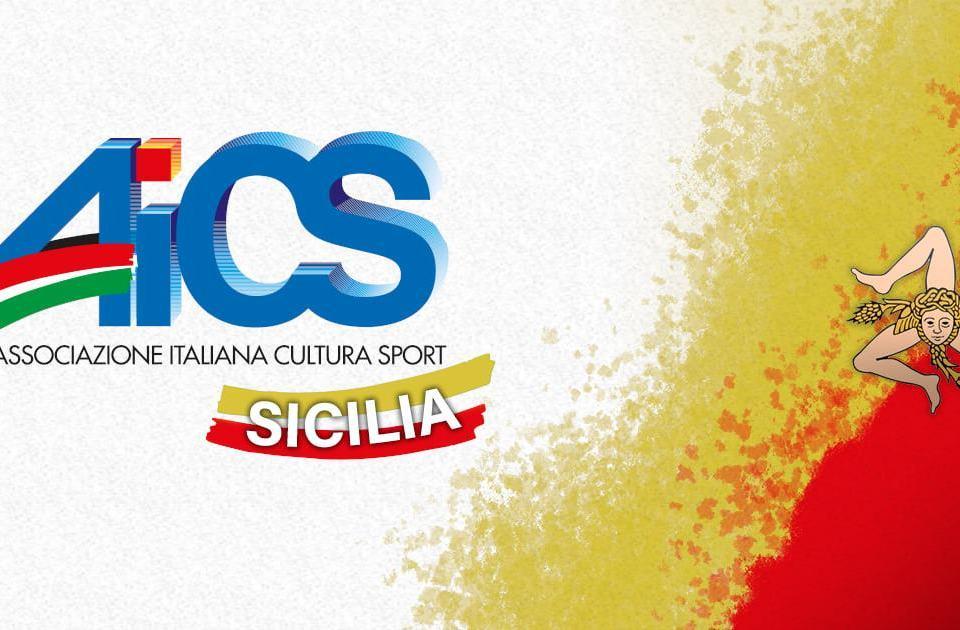 Nuova pagina facebook e loghi griffati Aics Sicilia