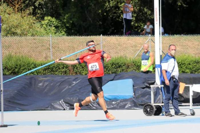 Davide Luca cala il tris d'oro ai Campionati Italiani Master