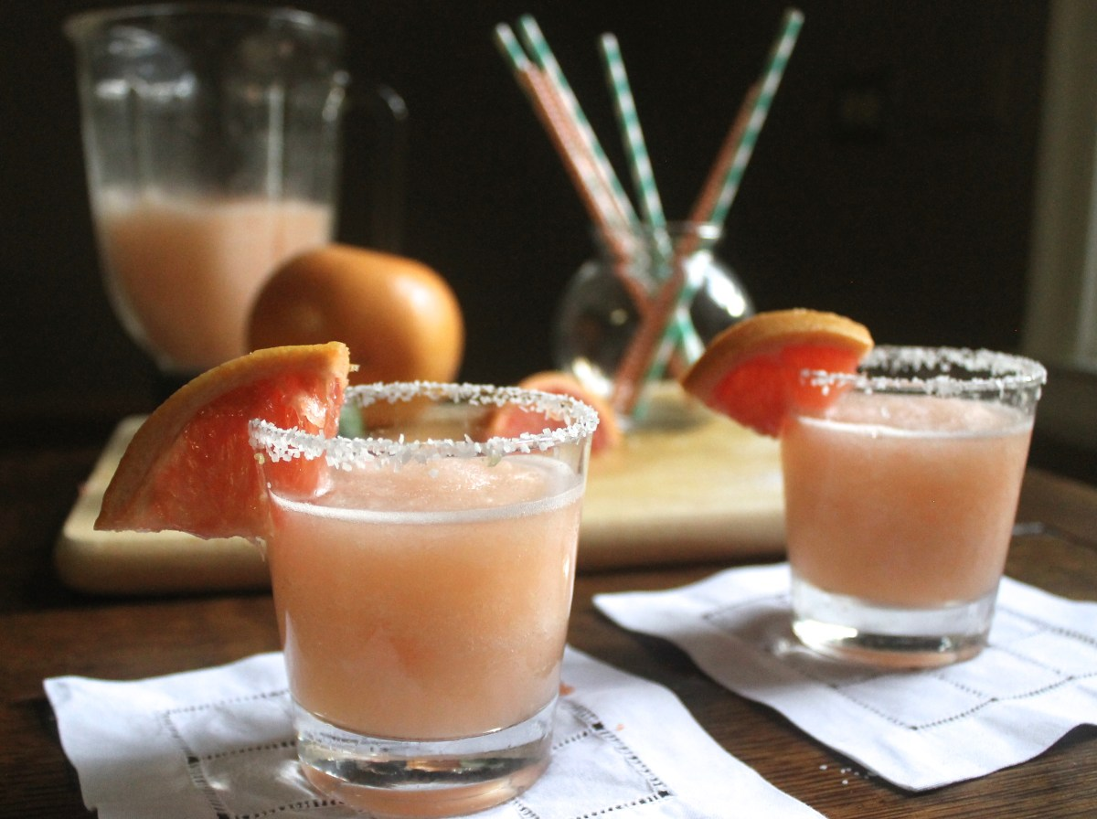 Giving Margaritas a Run for their Money: Frozen Grapefruit Palomas