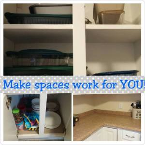 How to make your spaces work for you!
