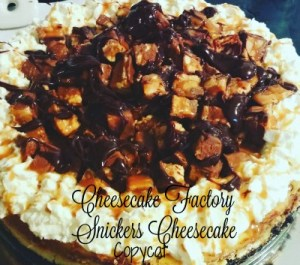Cheesecake Factory Snickers…HEAVEN!