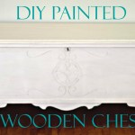 DIY Painted Wooden Chest