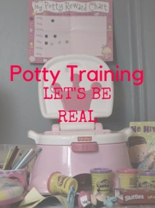 Potty Training: Let's Be Real