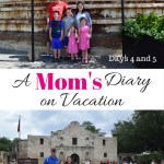 A Mom's Diary on Vacation: Days 4 and 5