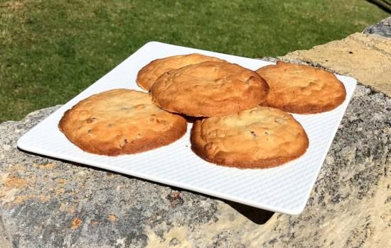 Heston's banana bacon cookies