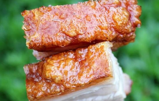 barbecue pork belly