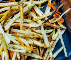 Sneak Peek Image for Parsnip Carrot Fries.