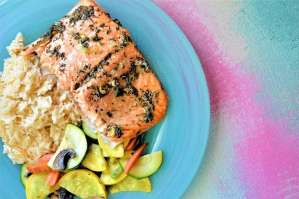 Spring Salmon: No Hassle 20 Minute Meal