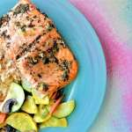 Spring Herb Salmon: No Hassle 20 Minute Meal