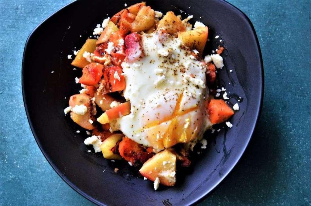 Sweet Potato Apple Hash
