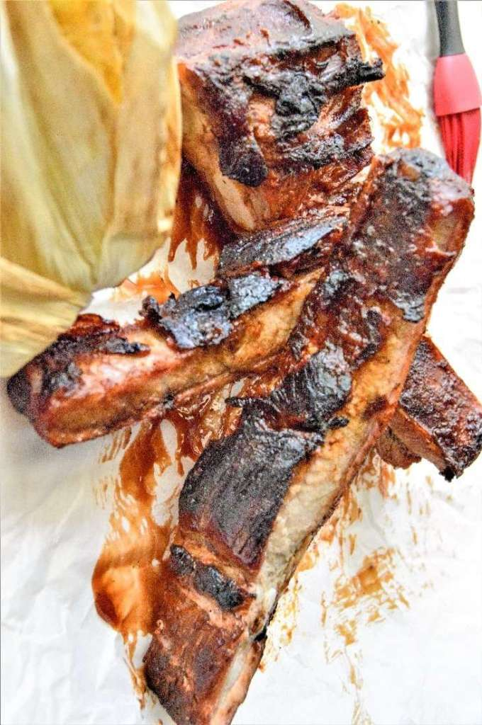 Baby Jane's Messy BBQ Spare Ribs.