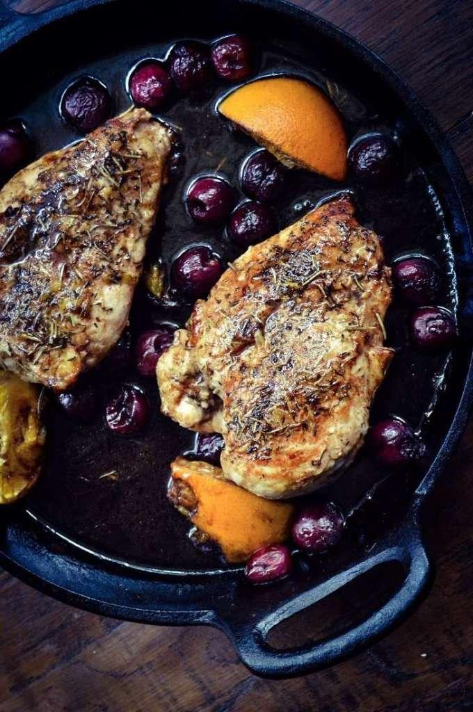 Cherry Balsamic Chicken #1