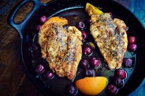 Cherry Balsamic Chicken feature