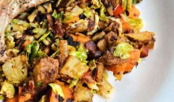 Sun Dried Tomato Potato Hash
