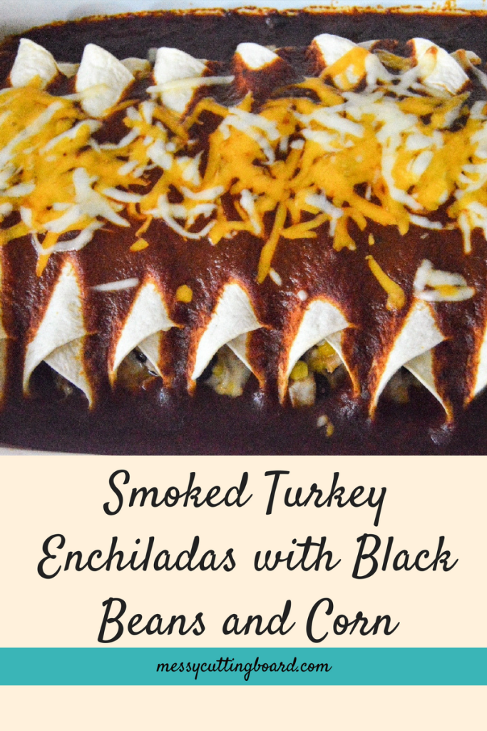 Smoked Turkey Enchiladas Title
