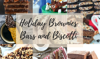 Holiday Brownies Bars and Biscotti Title