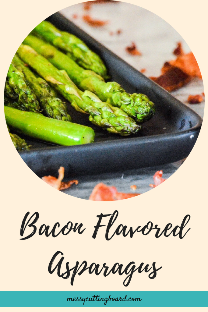 Bacon Flavored Asparagus Title