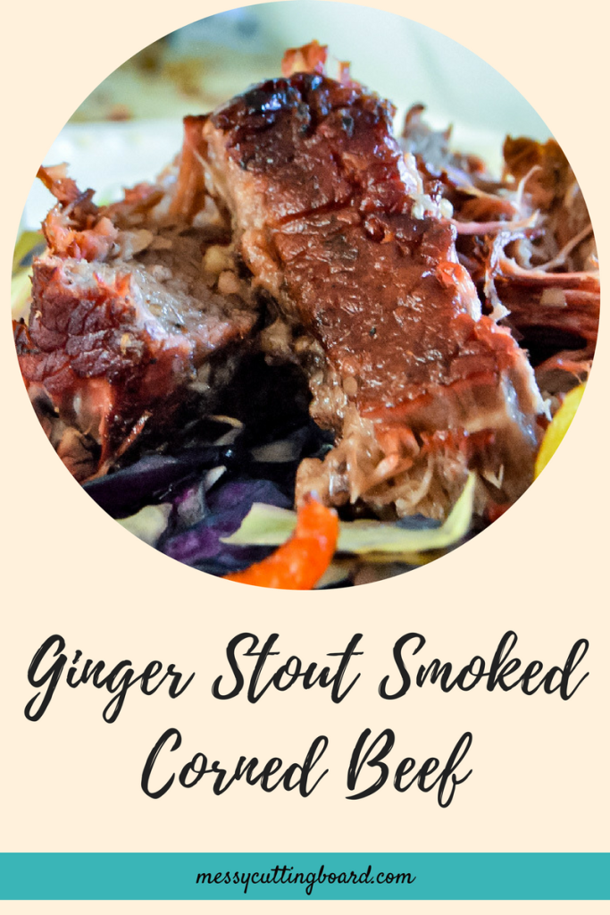 Ginger Stout Smoked Corned Beef Title