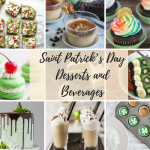 Saint Patrick's Day Dessert and Beverage Feature