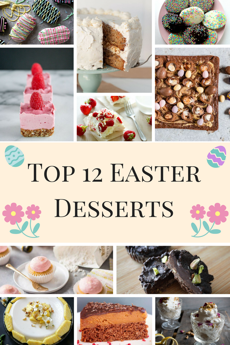 Easter Desserts Pin