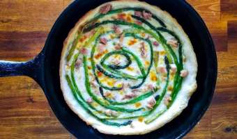 Asparagus Tart feature