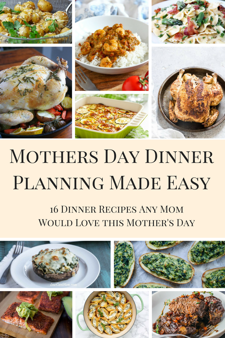 Mother's Day Dinner pin