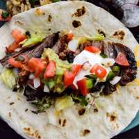 Brown Sugar Chipotle Grilled Steak Tacos