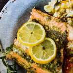 Grilled Lemon Herb Salmon Salmon