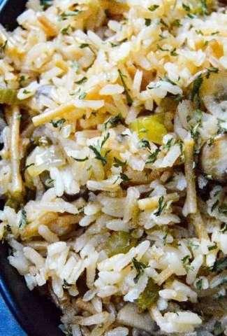 Instant Pot Rice Pilaf feature