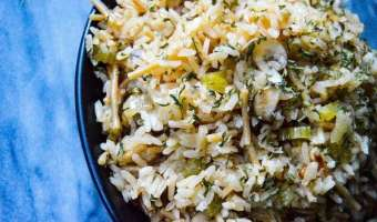 Instant Pot Rice Pilaf feature