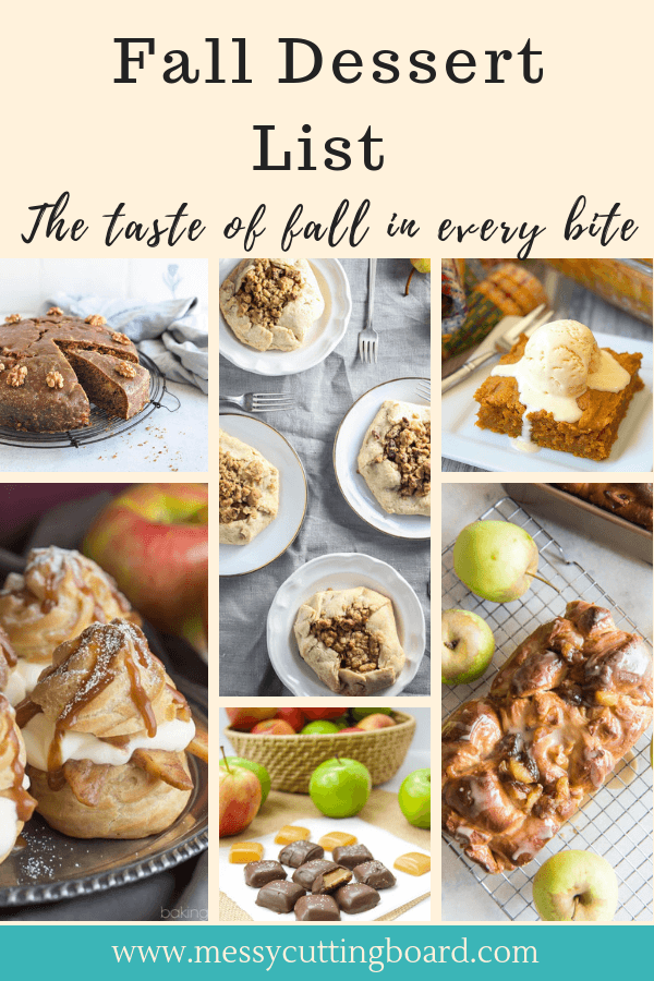 Title Image for Fall Desserts List Post