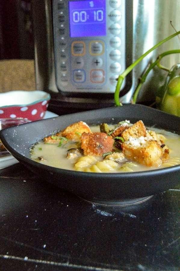 Lemon Herb Chicken Noodle Soup Full