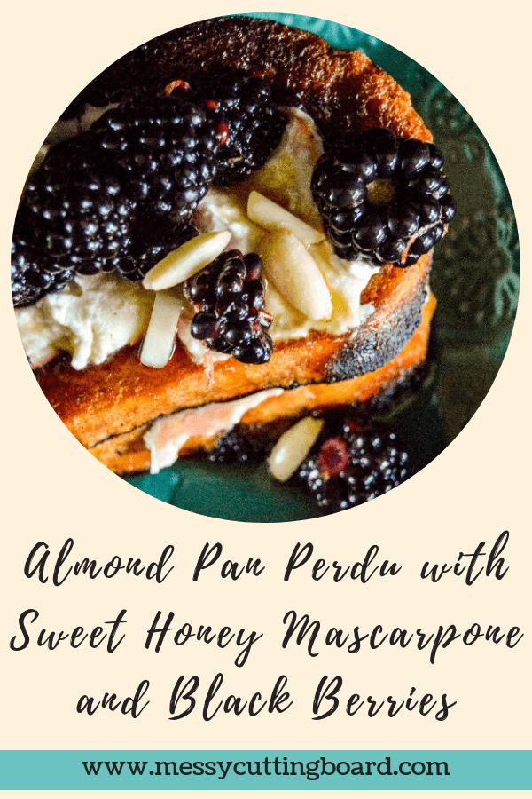 Almond Pan Perdu Title