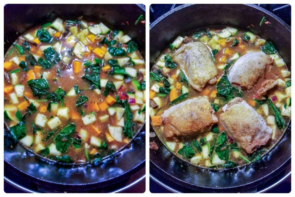 Loaded Veggie and chicken pasta prep #2