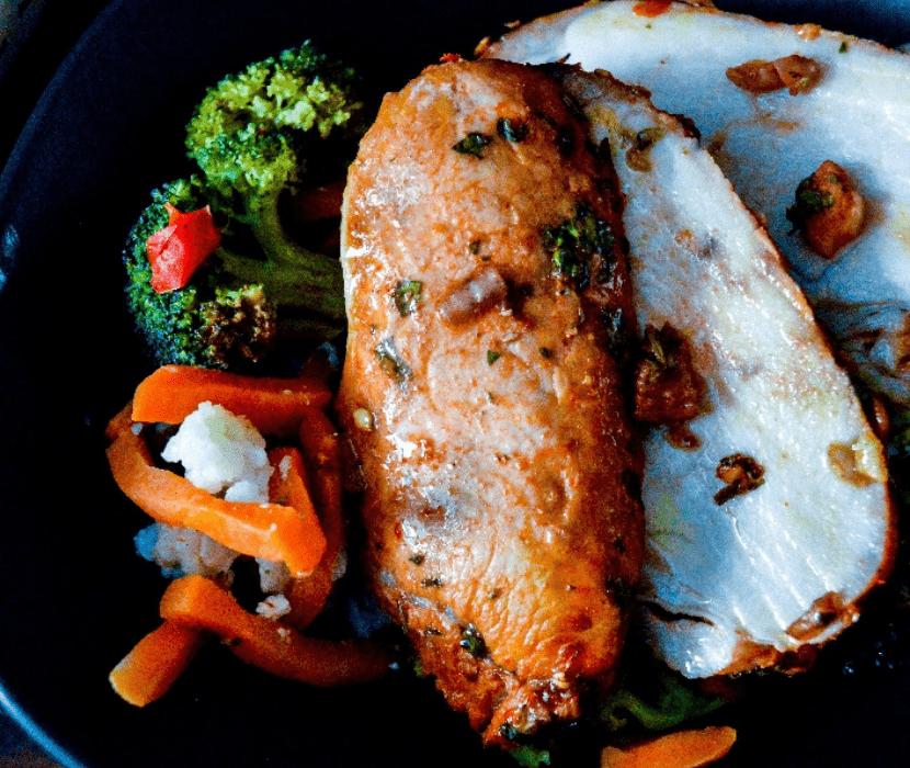 Chili lime pork loin