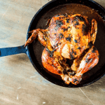 Chili Butter Roasted Chicken Feature
