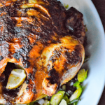 Chipotle Honey Roasted Chicken Feature Title Image