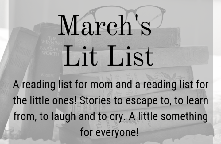 March Lit List Feature