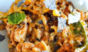 Chicken Enchilada Skillet Dinner Feature
