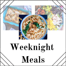 Weeknight Meal Recipes
