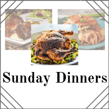 Sunday Dinner Recipes