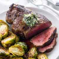 The Best Filet Mignon Recipe with Garlic Herb Butter (VIDEO!)